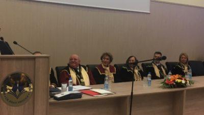 Ректорот Боев и проректорите во посета на …