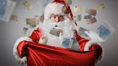 Дедо Мраз може да заработи повеќе одошто мислите