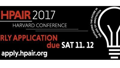 Call for Applications   Harvard Conference – HPAIR 2017