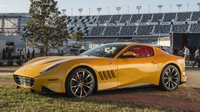 Фото: Уникатен автомобил создаден од Ферари и Пинифарина