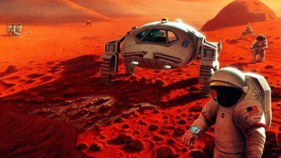 Што би се случило со телото на човек што ќе почине на Марс?