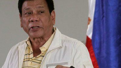 Филипнскиот претседател призна дека лично тој убивал нарко дилери