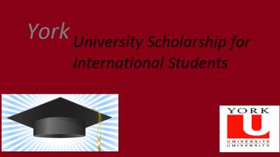 """Меѓународни студентски стипендии на """"York University"""" во Канада"""