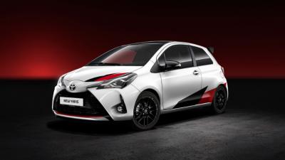 Доаѓа најмоќниот сериски Toyota Yaris во историјата