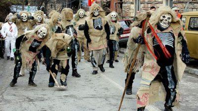 Во Вевчани попладнево почна дводневниот традиционален карневал
