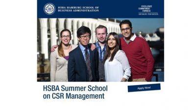 Меѓународна летна школа за менаџмент во Хамбург, Германија