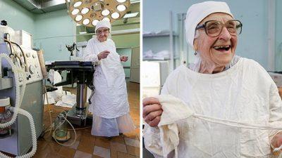 Фото: Бабичка-хирург има 89 години и се уште прави по 4 операции дневно