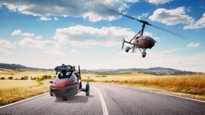 Првите комерцијални летачки автомобили пуштени во продажба