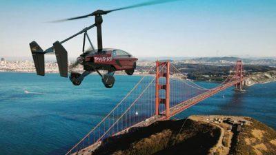 """Фото+Видео: Пристигнува летечкиот автомобил """"Либерти"""" и ќе чини 400.000 долари"""