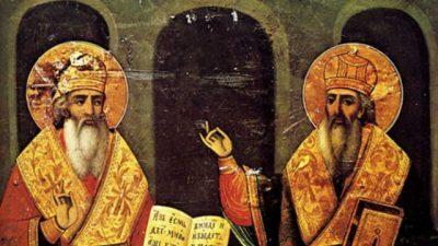 Проекција на словачки документарен филм за Кирил и Методиј