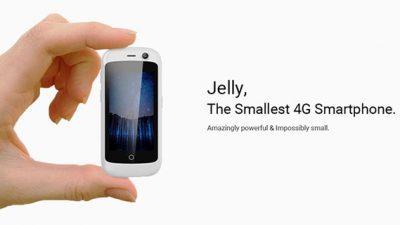Jelly е најмалиот 4G смартфон во светот – има дисплеј од само 2,45 инчи