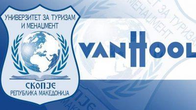 """Најава за предавање на УТМС на менаџерот на човечки ресурси во """"ВАН ХОЛ"""", м-р Виктор Дојчиновски"""