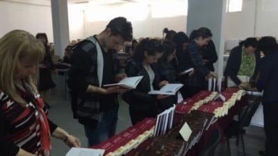 Саем на книгата на Филолошки факултет во Штип