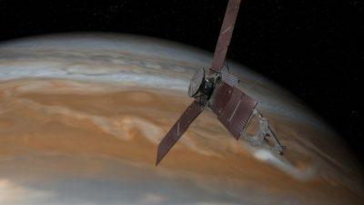 Објавени првите резултати од истражувањата на Јупитер направени од сондата Џуно