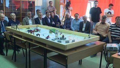 Отворен кабинет по роботика во Кочани