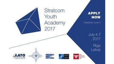 """Повик за аплицирање, Академија за млади """"StratCom"""" во Рига, Латвија"""