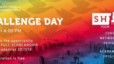 Challenge day можност за освојување на целосна стипендија за следната академска година во SEDC