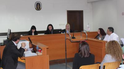 Студентите на ФПРН при УАКС учествуваа во симулација на судење во Основниот суд Скопје II Скопје