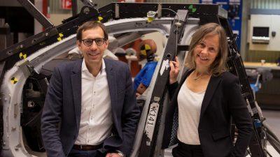 Експертите на Volvo со награда за безбедност на патишта