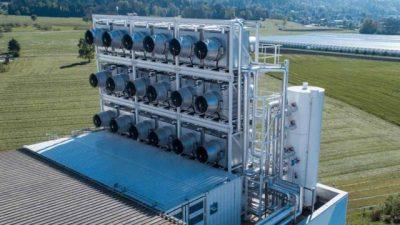 Нова машина за отстранување на СО2 од воздухот