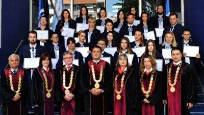 На УТМС доделени декански пофалници и стипендии на најдобрите студенти