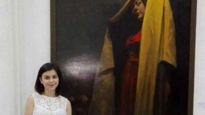 Александра Митева со уметнички мозаик победи на Ротари конкурс во Италија