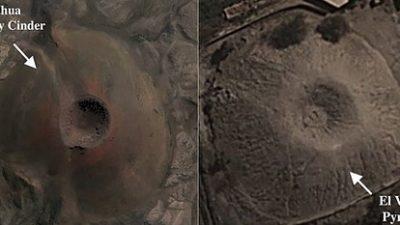 Пирамида во форма на вулкан ги изненадува експертите