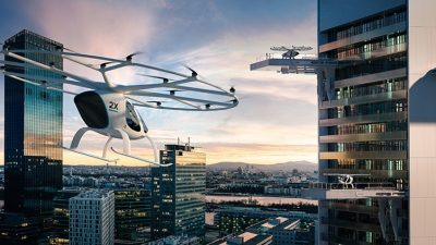 """Видео: """"Daimler"""" инвестира во беспилотно такси кое ќе лета во Дубаи"""