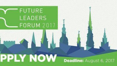 Повик за аплицирање, Форум за идни лидери во Рига, Латвија