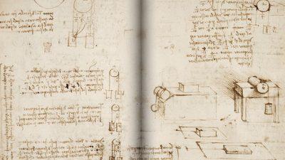 Ракописите на Леонардо да Винчи достапни на Интернет