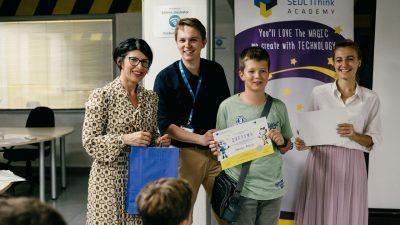 Дипломираа најмалите ИТ генијалци во Македониja