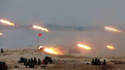 ВИДЕО: Како ќе изгледа Севернокорејската војна?