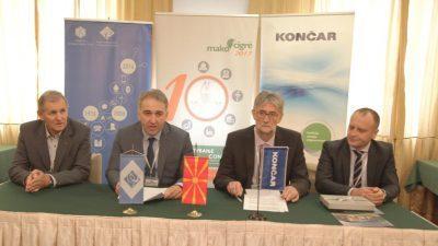 Кончар од Загреб и ФЕИТ потпишаа договор за соработка и донација