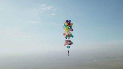 ВИДЕО: Полетување со 100 шарени балони
