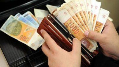 За два месеци секој вработен во Македонија ќе добие по 9.000 денари
