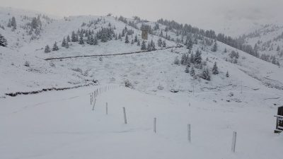 ФОТО: Македонија под снежна покривка – Утрово забелеа планините во Македонија
