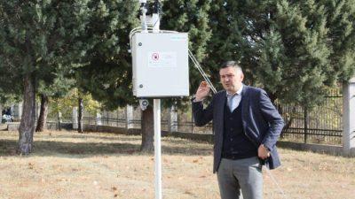 УГД ќе постави мерна станица за квалитетот на воздухот во Штип