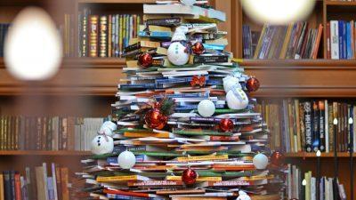 """Неколку илјади книги за големата """"елка на знаење"""" во Свети Николе"""