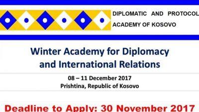 Зимска академија за дипломатија и меѓународни односи