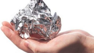 Лекување со фолија – чудесната моќ на алуминиумската фолија !