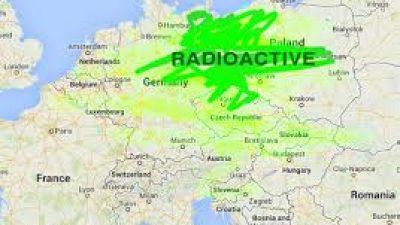 Регистриран е радиоактивен облак над Европа