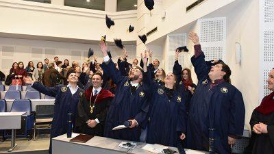 Доделени дипломи на 23-та генерација студенти која ги заврши студиите на Факултетот за ветеринарна медицина во Скопје