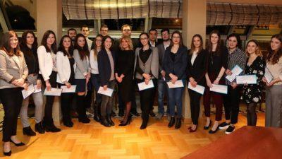 """Четврта година по ред Еуролинк осигурување доделува стипендии за студенти на Правниот факултет """"Јустинијан Први''"""