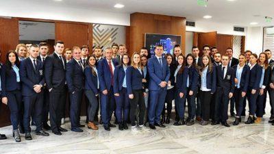 """Студентите од УТМС, беа во посета на """"Халк банка"""""""