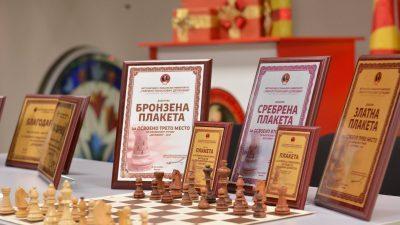"""МСУ: Доделени наградите од шаховскиот турнир """"Державин"""" – 2017"""