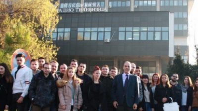 УГД: Идните новинари и правници во посета на АВМУ и МТВ