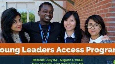 Целосно финансирана програма за млади лидери во САД