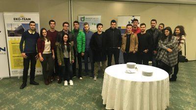 Студентите на УАКС учествуваа во годишната конференција на Македонската асоцијација за управување со отпад