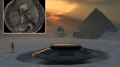 ВИДЕО: Оваа монета доказ дека воземјаните постојат?