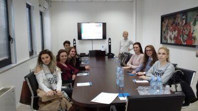 Студенти на УАКС во посета на финансиски институции во РМ